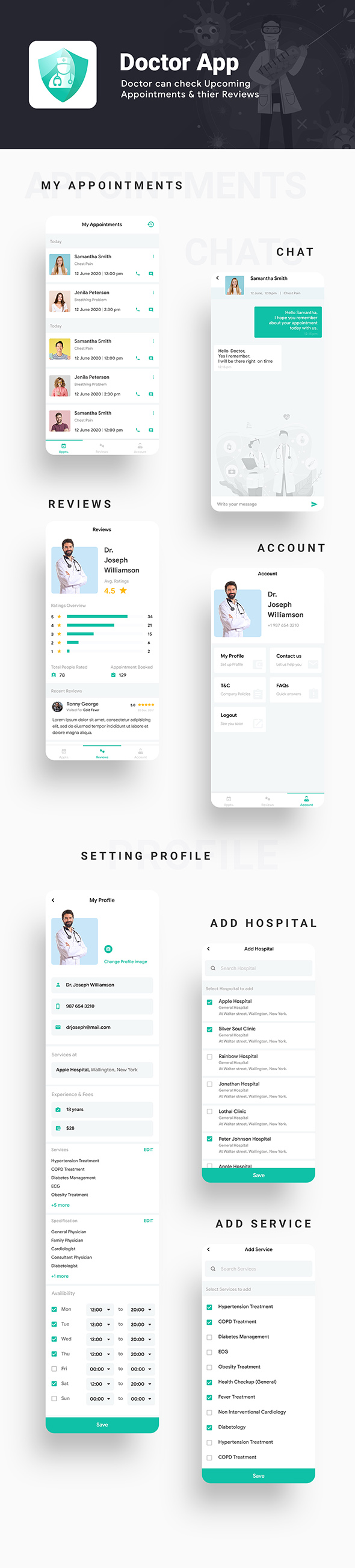 Nearby Doctor App| Online Medicine | Doctor Appointment Booking App |Android + iOS Template| FLUTTER - 5