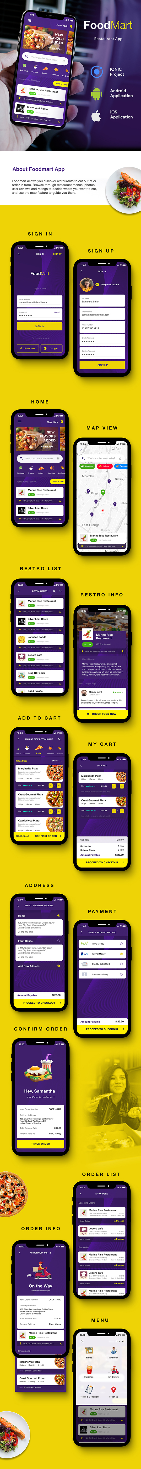 Food Delivery Android App - 2