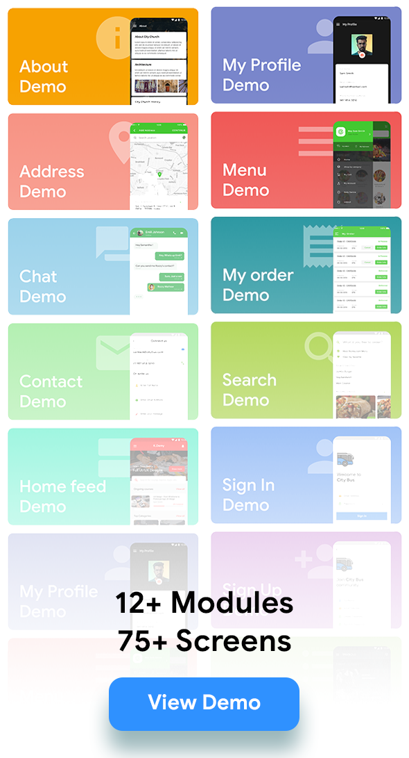 IONIC 5 UI elements with 85+ Screens | Ready to use| IONIC UI Kit - 2