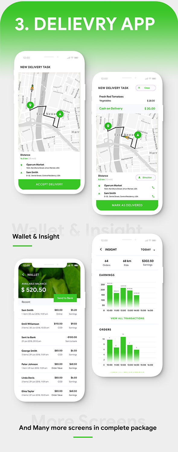 Grocery Ordering Android App Template + Ecommerce iOS App Template (HTML + CSS) (IONIC 5) | Groshop - 6