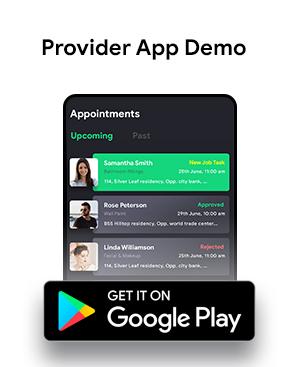 Home Service Provider Android + iOS App Template | HTML + Css IONIC 3 | Servo - 3