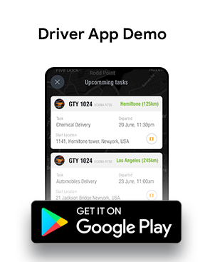 Truck Tracking & Driver Android + iOS App Template | HTML + Css IONIC 3 | TrucksUp - 3