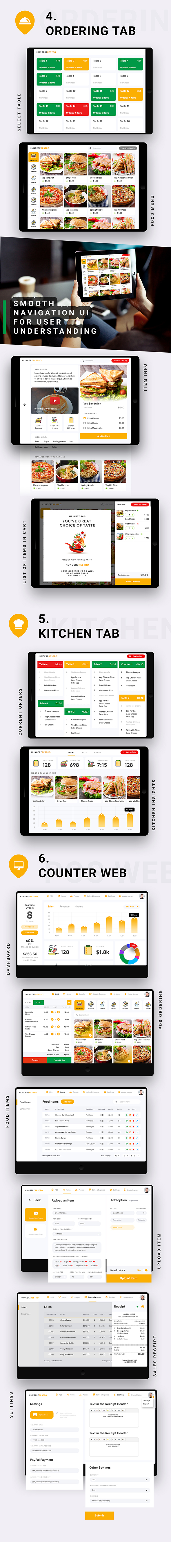 6 in 1 multi Restaurant Food Ordering App|Food Delivery App|Android+iOS App Template|Flutter Hungerz - 12